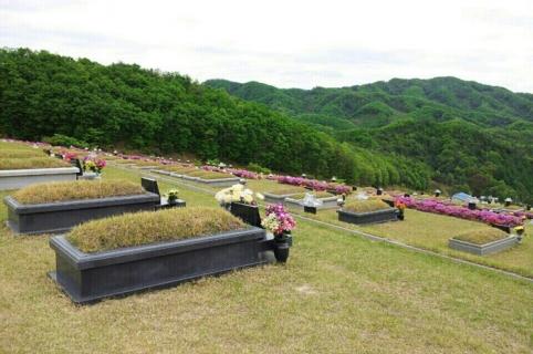 공원묘지 매장묘 by 하늘세상