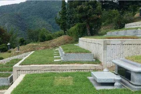 가족묘지,매장묘,묘지 by 하늘세상